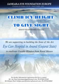 Climb Icy Height To Give Sight